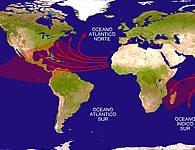 La región de los huracanes