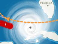 El huracán Rita