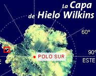 La Capa de Hielo Wilkins, en peligro